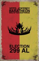 Election 299 AL: Joffrey Baratheon by Izaach