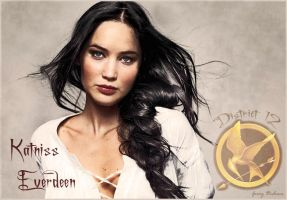 Katniss Everdeen by Cruxity