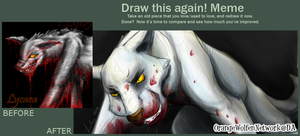 Draw This Again! Lycaea 2007 - 2012 by OrangeWolfenNetwork