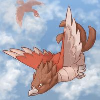 021: Spearow by Rikkoshaye