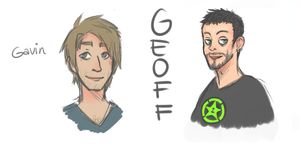 achievement hunter doodle by Gerxan