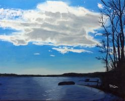 Cloud Over the Potomac by macourtney