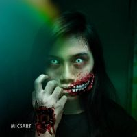 Zombie Makeup by ElleCnd