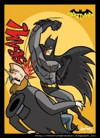 Batman vs Penguin by Granamir30