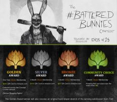 Spring Contest 2016: #BatteredBunnies - NOW OPEN! by CGCookie