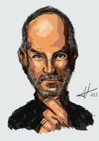 Steve Jobs by AndiMoo