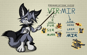 Pronunciation Guide by Virmir