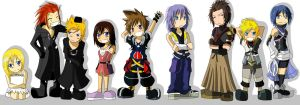 Fanart: chibi KH by nevew