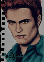 Edward Cullen 4 - Painted by inmany