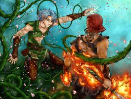 Battle of the Elements by Elflady88
