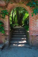 Garden Archway by secondclaw