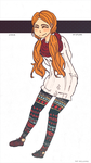 BLEACH STREET FASHION: orihime by Allicei