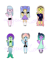 Monster Hand Adopts ***SUPER CHEAP*** {1/6 Open} by LyricLioness