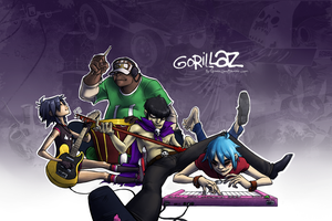Gorillaz Wallpaper by Spartichi