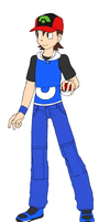 My Pokemon Trainer Will persona (4th Generation) by MasterGamer101