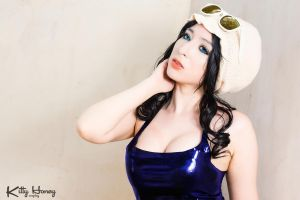 Nico Robin Cosplay - Dressrosa Ver. by Kitty-Honey