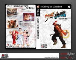 Street Fighter Backup DVDcover by Alpipi