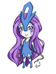 Suicune Chibi by 0live0yl