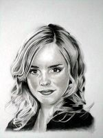 Emma watson pencil portrait by Cr1msonCloud