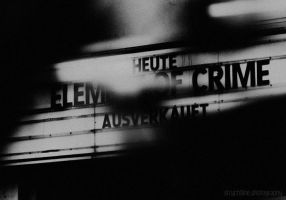 Eelement of Crime { SOLD OUT} by yamyamART