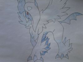 mega absol from pokemon by shadowvid55