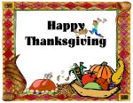 Happy Thanksgiving 1 Greeting Card by Mango84