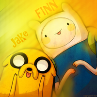 Finn and Jack by Ichgovastolorde