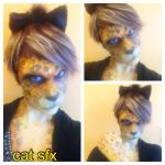 LEOPARD PROSTHETIC AND FULL BODY PAINT by Anesthetic-X
