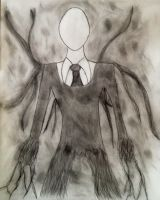 Slender Man by Silverexorcist