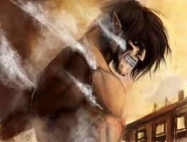 Eren Jaeger by chimicalstar