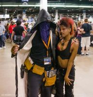 Acen 2013 - Resident Evil 4 Merchant and ??? by Havoc-The-Tenrec