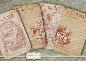 Journal Vintage Paper Diary Pages by mimikascraftroom
