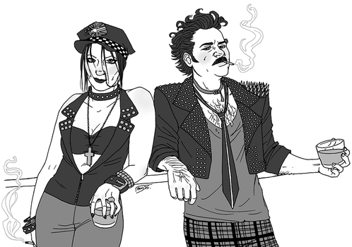 OTP Challenge Day 15: Different clothing style by muffinpoodle