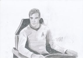 Captain Kirk (William Shatner) by Voorhees87
