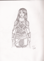 Random Sketches 2- Aetheria by Chloe-The-Great