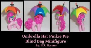 Custom Umbrella Hat Pinkie Pie by Gryphyn-Bloodheart