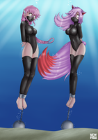 Eien and Ruya: Bound and Drowned -Part 1- by NV by Shaded-Seraphim