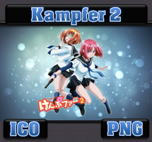 Kampfer 2 ICO and PNG by bryan1213