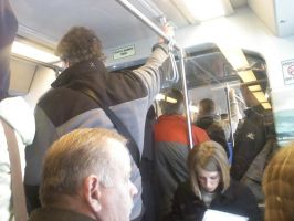 Packed Train 2 by themaskedcrusader
