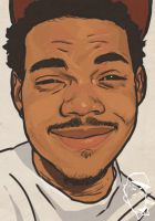 Chance The Rapper by EarnSomeHeight