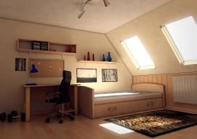 WIP : Room interior by MarcinG1