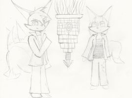 An odd cast: 2 by PissedOffFangirl