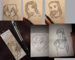 Bunch of Doodles by ArtGuyCharlie