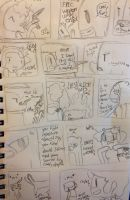 Comic page one! Sketch by TheATeamXp