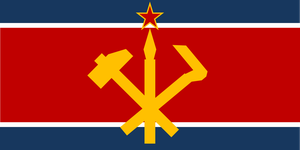 North Korea Flag by MarioStrikerMurphy