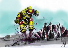 Angry marines: Bug stomping by HrvojeSilic