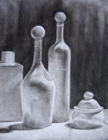 charcoal Still-life 2 by bangalore-monkey