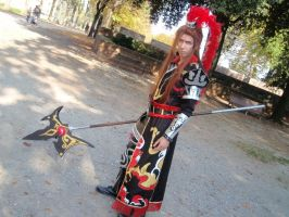 Lu Bu cosplay by Albertuss