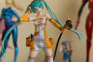 Hatsune Miku (Good Smile Racing 2010 Version) by RedPepperDe