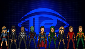 Smallville's Justice League by MicroManED